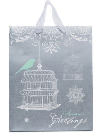 Christmas Gift Bags - Spine Forest Medium
