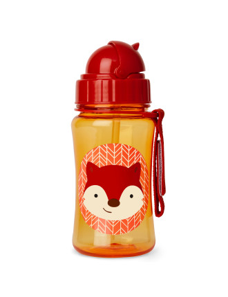 Skip Hop Fox Zoo Straw Bottle