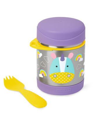Skip Hop Unicorn Zoo Stainless Steel Food Jar