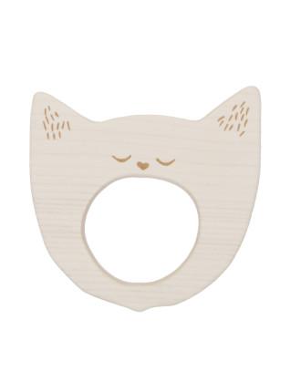 Teether Yawning Cat