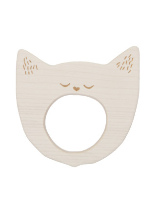 Teether Smiley Cat
