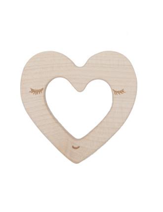 Teether Heart