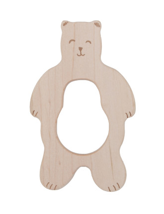 Teether Smiley Bear
