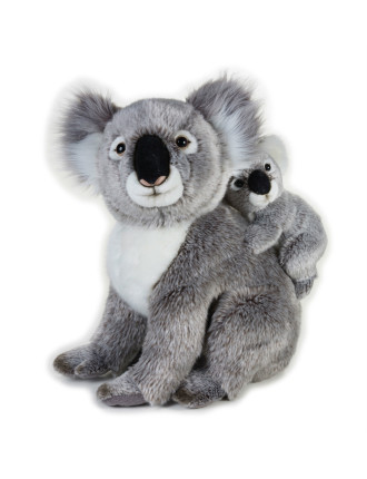 KOALA WITH BABY 37cm