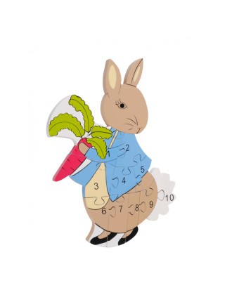 BEATRIX POTTER PETER RABBIT NUMBER PUZZLE