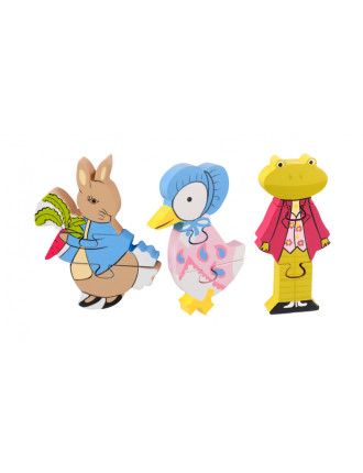 BEATRIX POTTER PETER RABBIT MINI PUZZLE SET