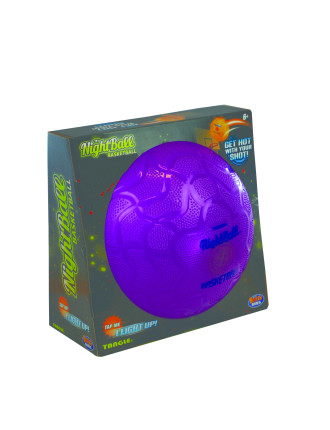 NightBall Basketball - Magenta