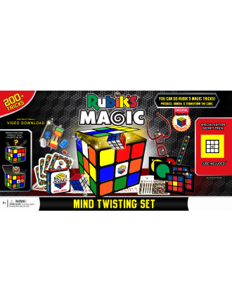 RUBIK'S 200+ TRICKS MIND TWISTING MAGIC SET