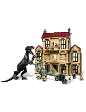Jurassic World Indoraptor Rampage at Lockwood Estate