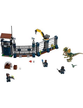 Jurassic World Dilophosaurus Outpost Attack