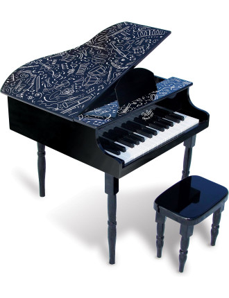 Grand Piano And Stool