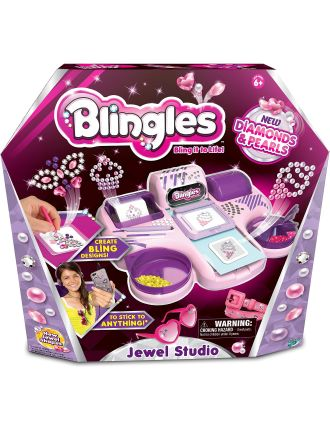 Blingles Diamonds and Pearls Studio