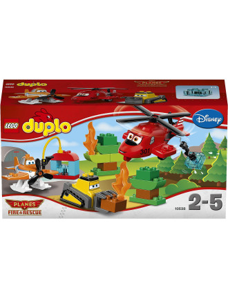 Duplo Fire And Rescue Team