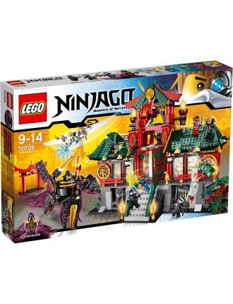 Ninjago Battle For Ninjago City