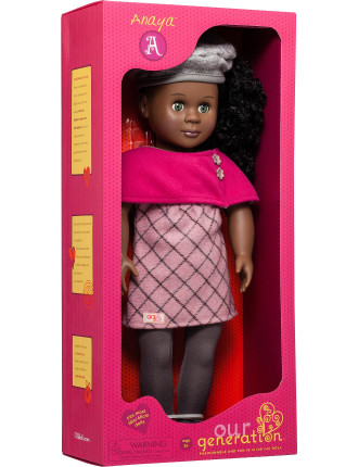 Anaya 18' Non Poseable Doll