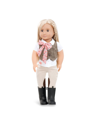 Leah 18' Non Poseable Doll