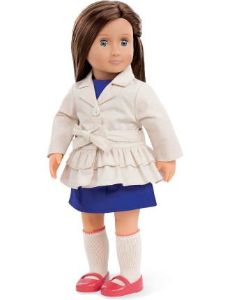 Lilia 18' Non Poseable Doll