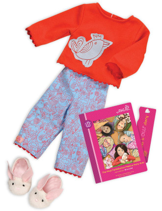 Willows Book And Outfit Set
