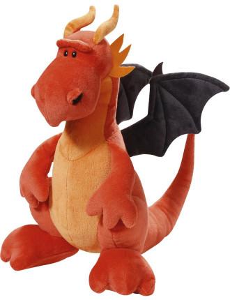 Plush Sitting Dragon