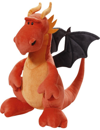 Plush Sitting Dragon