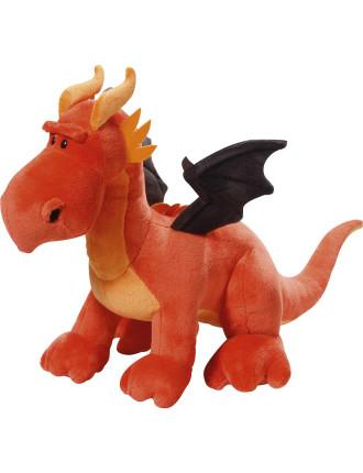 Plush Standing Dragon