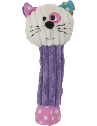 Patchwork Pals Chloe Cat Rattle