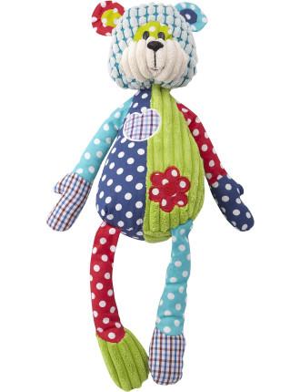 Patchwork Pals Benjamin Bear Toy