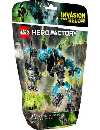 Hero Factory Crystal Beast vs. Bulk