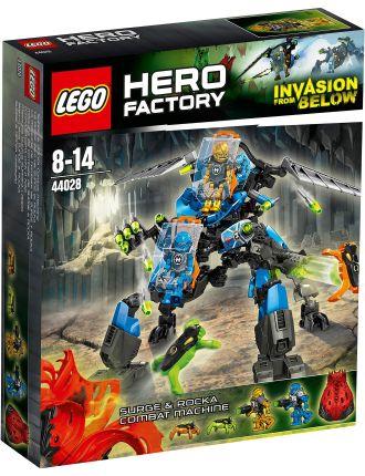 Hero Factory Surge & Rocka Combat Machine