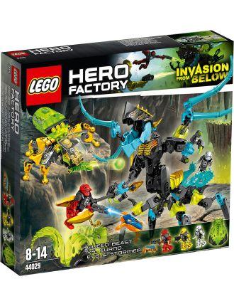 Hero Factory Queen Beast vs. Furno, Evo & Stormer