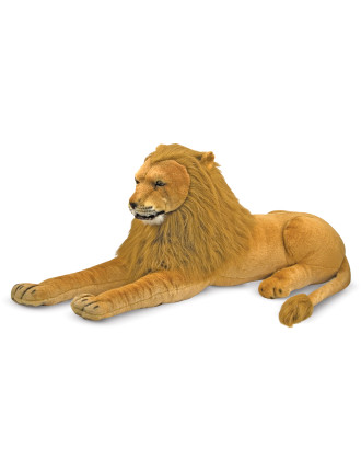 Giant Plush Lion