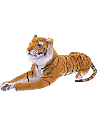 Giant Plush Tiger