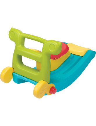 Fisher Price 2 In 1 Slide To Rocker