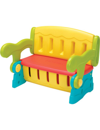 Fisher Price Sit N Munch Storage Bench