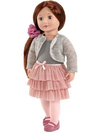 Doll In Frilly Skirt