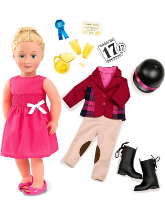 Lilly Anna 18 inch Poseable Doll