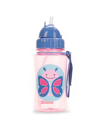 Butterfly Zoo Straw Bottle