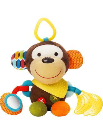 Monkey Bandana Pals Stroller Toy
