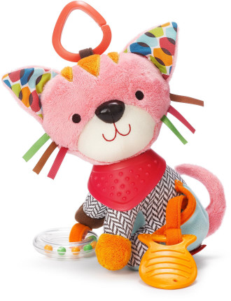 Kitty Bandana Pals Stroller Toy