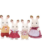 Chocolate Rabbit Family $29.95