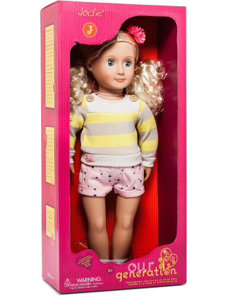 Og 18' Non Poseable Doll Jodie