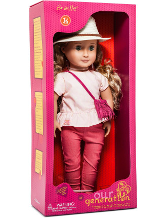 Og 18' Non Poseable Doll Brielle