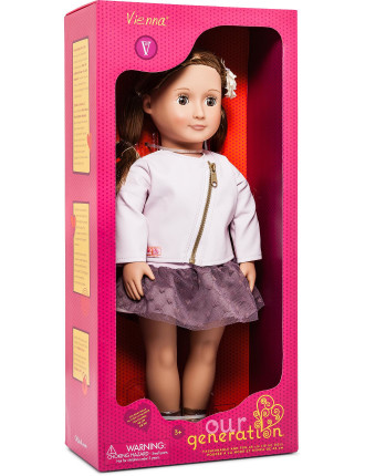 Og 18' Non Poseable Doll Vienna