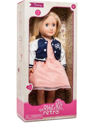 Og 18' Non Poseable Doll Terry