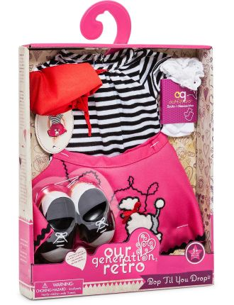 Og Poodle Skirt Set