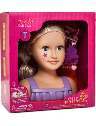 Og Doll Bust - Blone