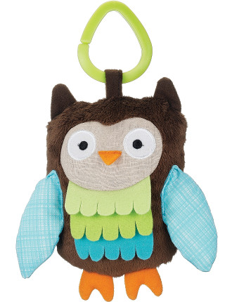 Owl Treetop Friends Stroller Toy