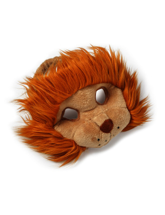 Lion Plush Animal Mask