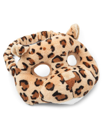 Leopard Plush Animal Mask