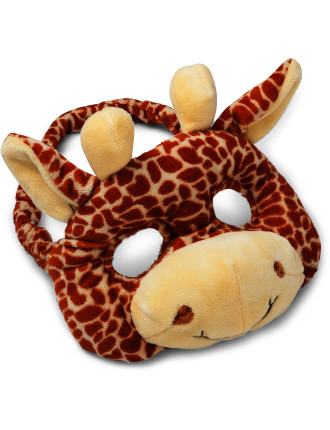 Giraffe Plush Animal Mask